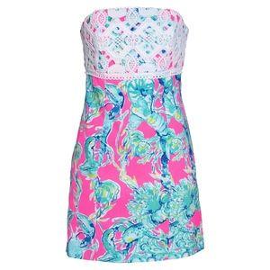 "Lilly Pulitzer ""Brynn"" Strapless Dress"